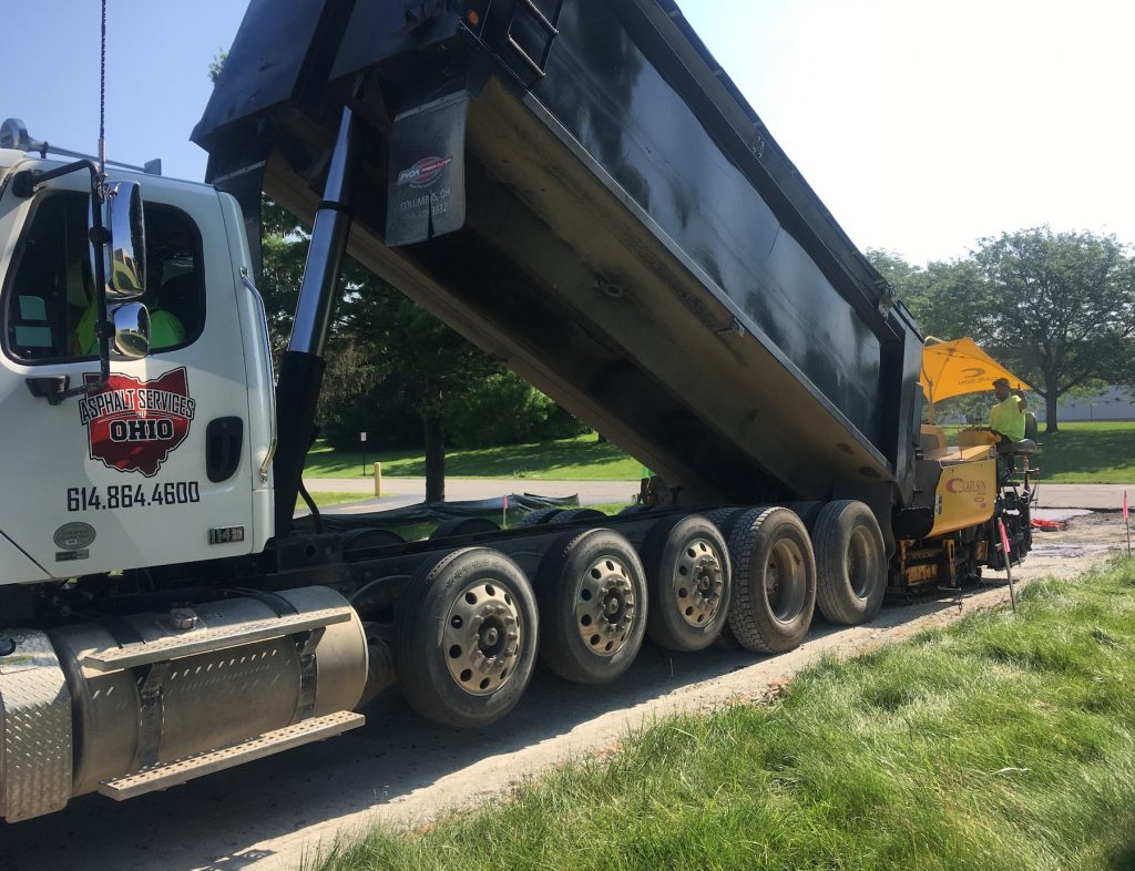 Asphalt Services of Ohio Commercial Job